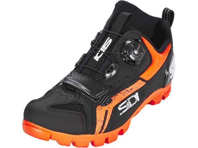 huge discount 7f8b8 d6386 Sidi MTB Defender Scarpe Uomo, black/orange